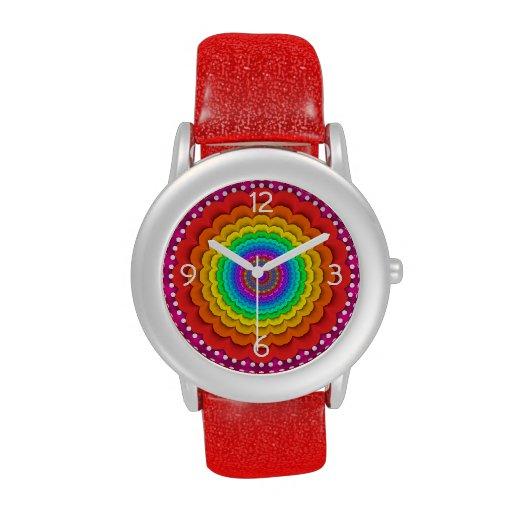 Reloj prismático del arco iris