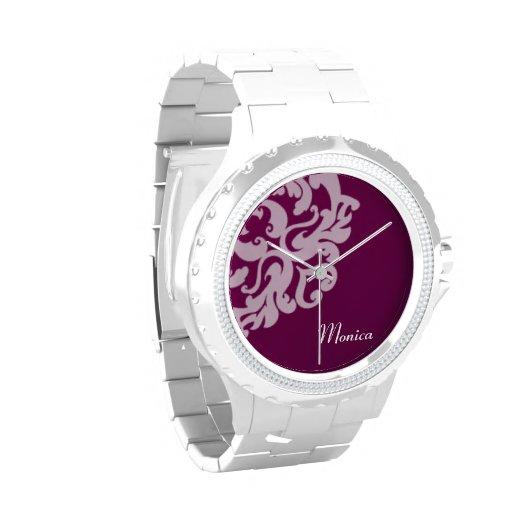 Reloj prosperado personalizado