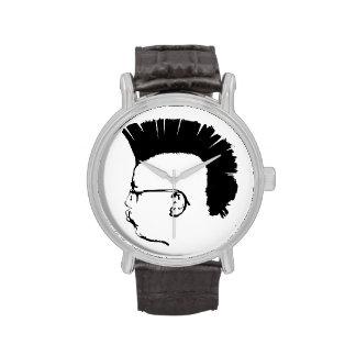 Reloj punky británico