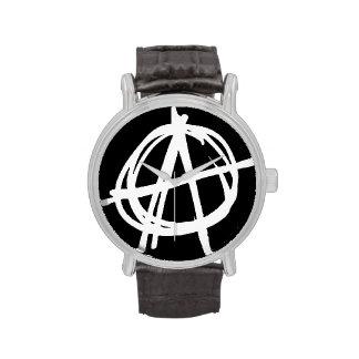 Reloj punky de la anarquía