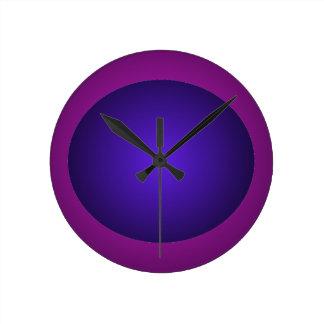 Reloj purpurino y Rojo-Púrpura de la bola del dise