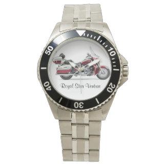 Reloj real de la empresa de la estrella
