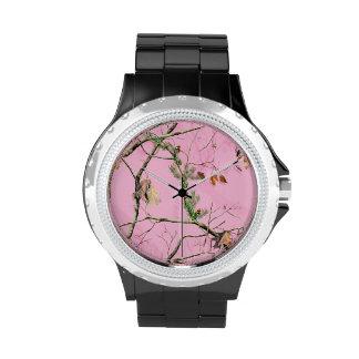 Reloj real del árbol de Camo del camuflaje del chi