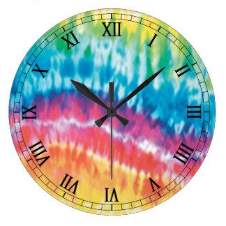 Reloj redondo de los números romanos del teñido an