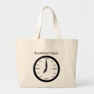 Reloj - reloj budista bolsa tela grande