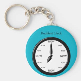 Reloj - reloj budista llavero redondo tipo pin