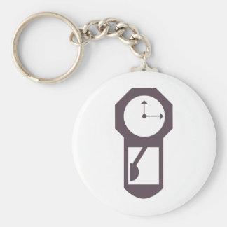 Reloj - relojes de pared - minutos de las horas de llavero redondo tipo pin