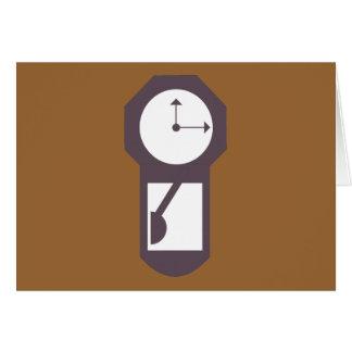 Reloj - relojes de pared - minutos de las horas tarjeta pequeña