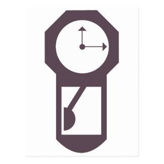 Reloj - relojes de pared - minutos de las horas postal