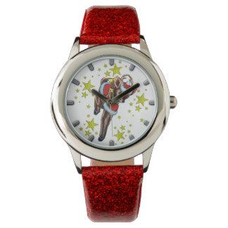 reloj retro de la apariencia vintage del reno del