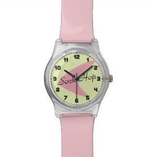 Reloj retro del bumerán