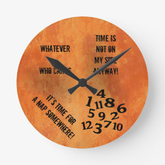 Reloj revuelto de los números