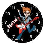 Reloj rockstar conocido del nombre del muchacho de
