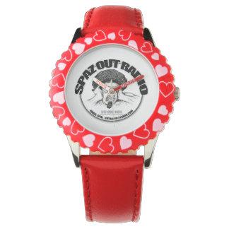 Reloj rojo de Spaz
