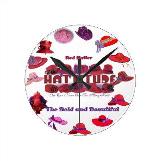 reloj rojo del gorra