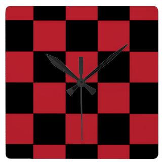 Reloj rojo del inspector
