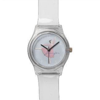 Reloj rosado adaptable de la bailarina May28th