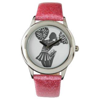Reloj rosado de la alegría