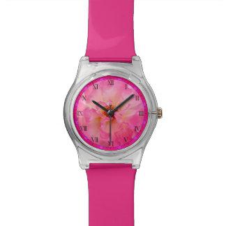 Reloj rosado del rosa