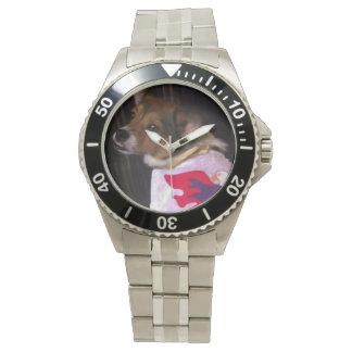 Reloj rugoso del perro Ducky