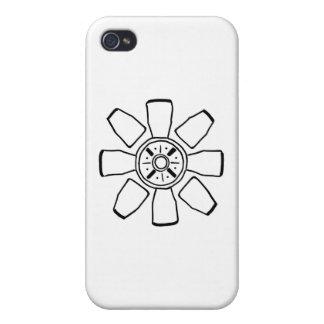 reloj sabio o pequeña flor divertida iPhone 4/4S funda