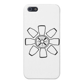 reloj sabio o pequeña flor divertida iPhone 5 cobertura
