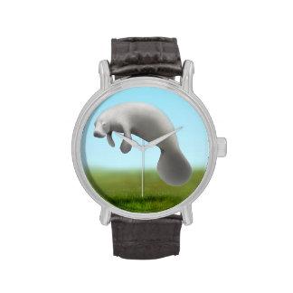 Reloj salvaje del Manatee de la Florida