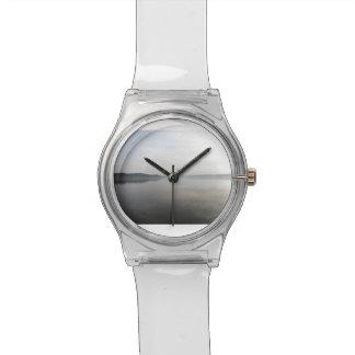 Reloj simplemente reservado del tiempo