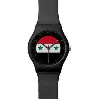 Reloj sirio de la bandera