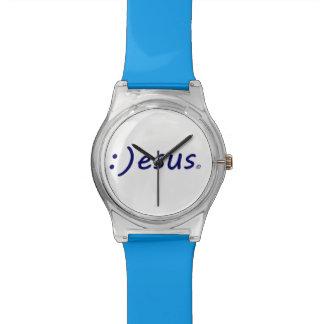 Reloj sonriente de Jesús
