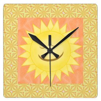 Reloj sonriente de Sun