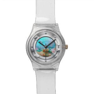 Reloj subacuático de la porta del yate