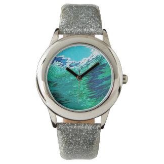 Reloj subacuático Juul de la persona que practica