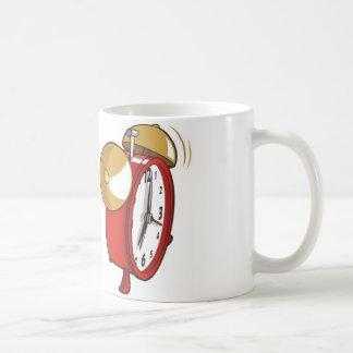 Reloj Taza Básica Blanca