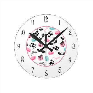 Reloj temático francés