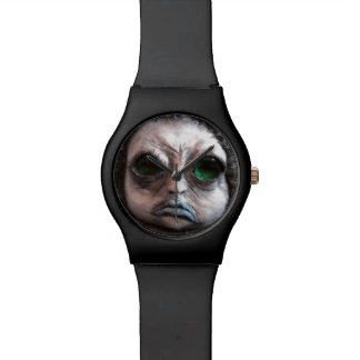 Reloj triste del oso de la criatura de WTF de Tric