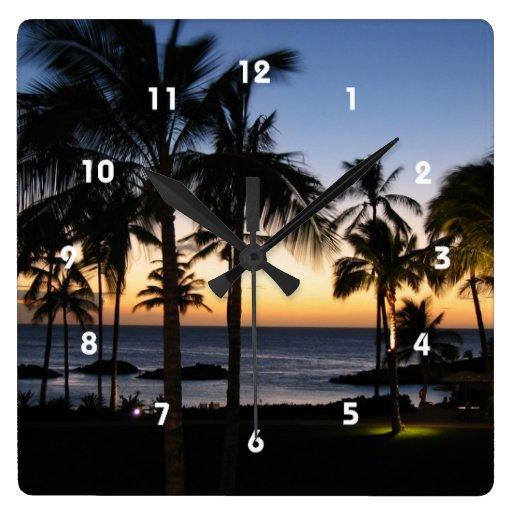 Reloj tropical del destino