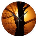 Reloj único del árbol