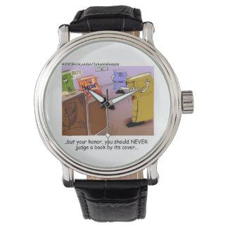 Reloj unisex divertido del misterioso asesinato
