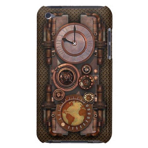 Reloj v2 de Steampunk del vintage Case-Mate iPod Touch Cárcasas