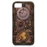 Reloj v2 'Vibe de Steampunk del vintage iPhone 5 Cárcasa
