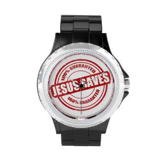 Reloj verdadero del salvador para los hombres
