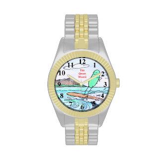 """Reloj verde de Weenii """"Hawaii verde"""""""