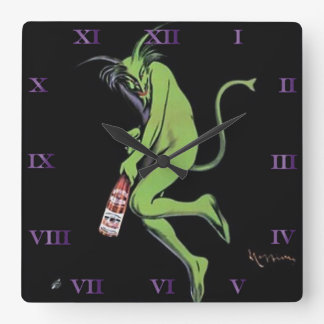 Reloj verde del ajenjo del diablo de Maurin Quina