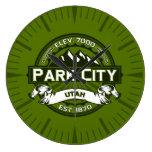 Reloj verde oliva de Park City