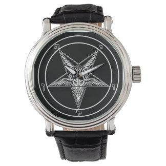 Reloj viejo de Baphomet Sigil