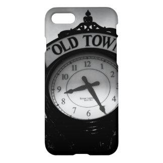 Reloj viejo de la ciudad funda para iPhone 7