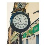 Reloj viejo de Salut, Sibiu Tarjetón