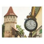 Reloj viejo de Sibiu Flyer A Todo Color