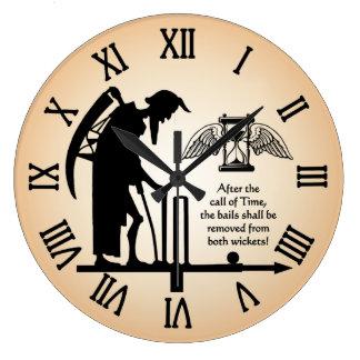 Reloj viejo del grillo del tiempo del padre